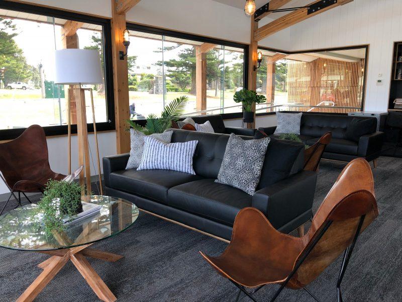 The Wharf @ Port Fairy lounge area