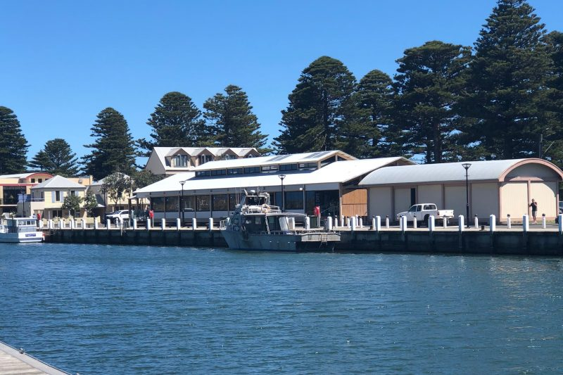 The Wharf exterior