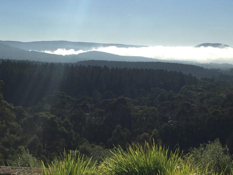 Mist over Mount Macedon