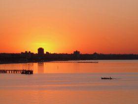 Sunrise at Port Melbourne