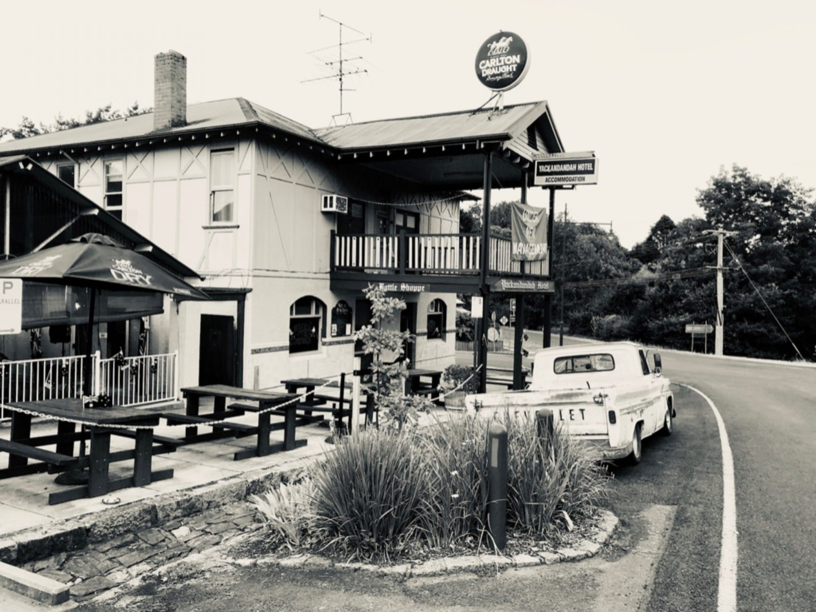Outside view of The Bottom Pub