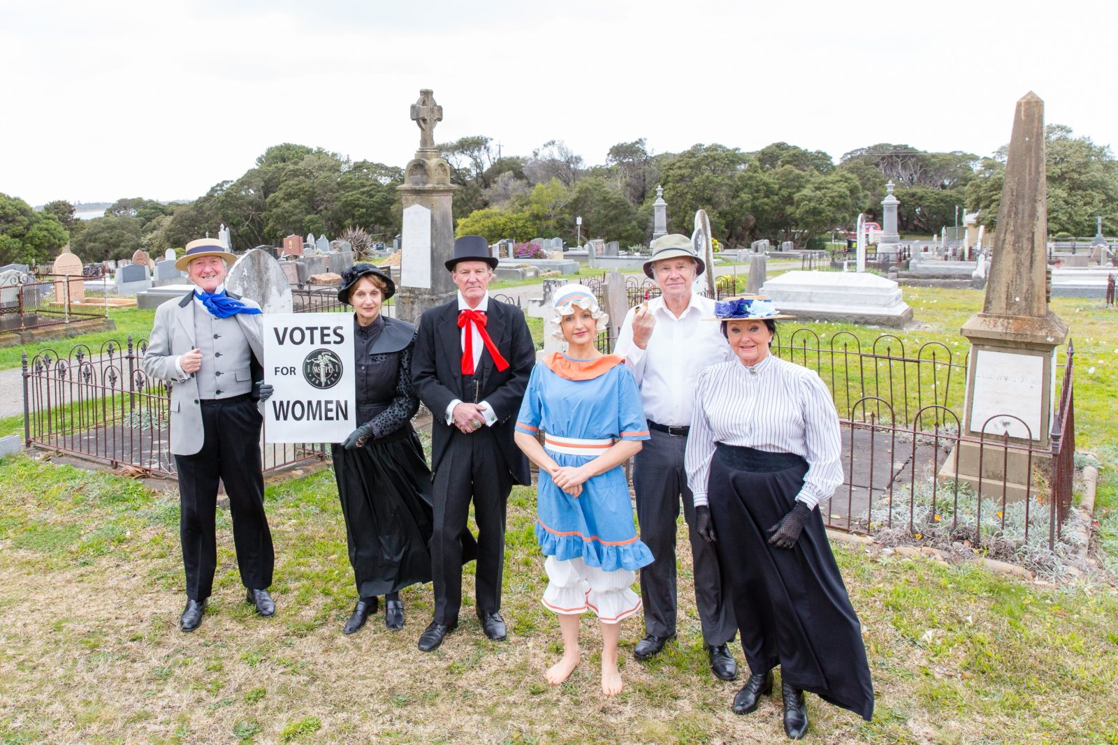 Themed Cemetery Tour - Queenscliff