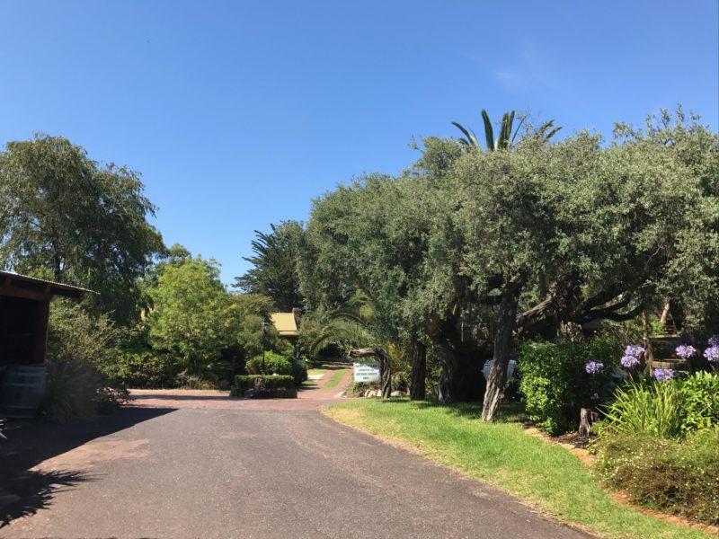 Ti-Tree Village entrance
