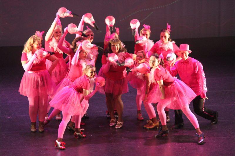 Tap Dancing Flamingos at The National Theatre