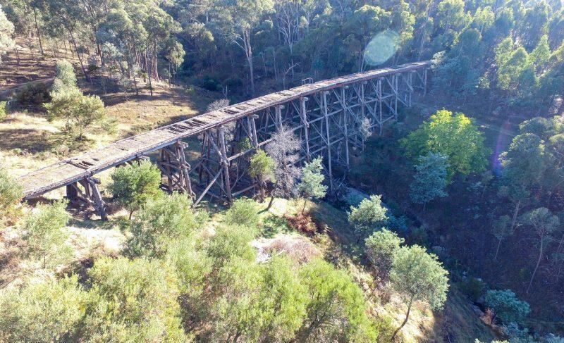 Darbyshire Trestle bridge