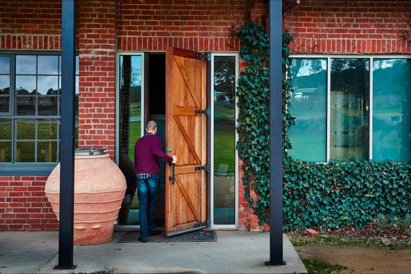 Our cellar door and restaurant entrance