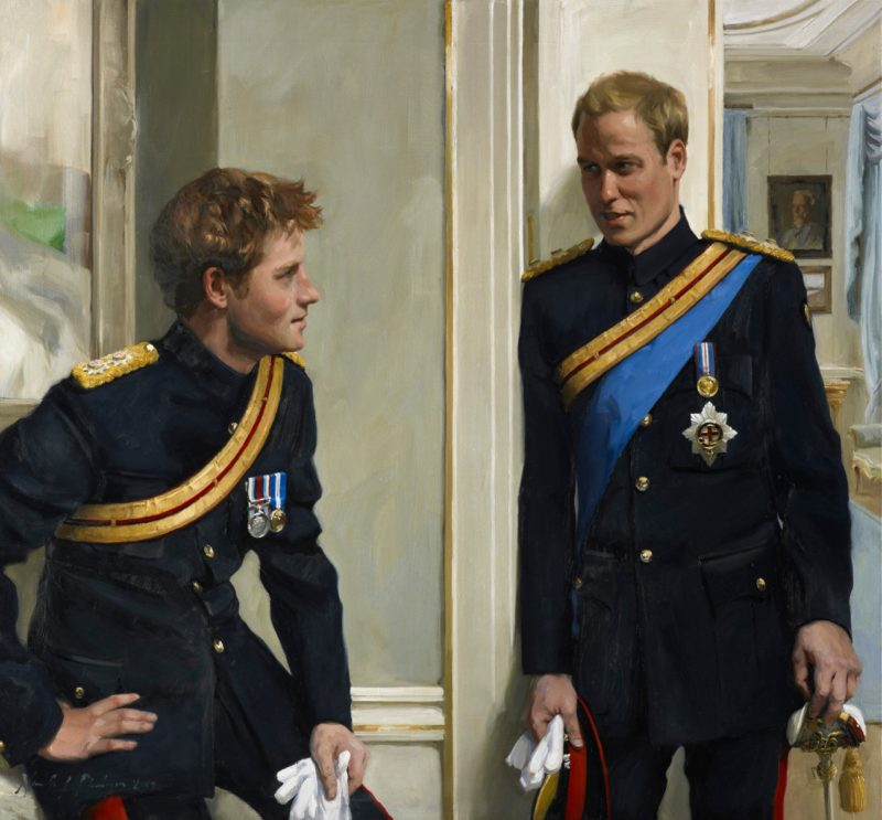 Prince William, Prince Harry By Nicola Jane ('Nicky') Philipps, 2009