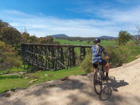 Trestle Bridge by the High Country Rail Trail