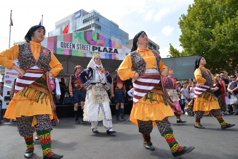 Folklore display from the eastern Blacksea area