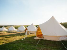 Twilight Glamping Bell Tents