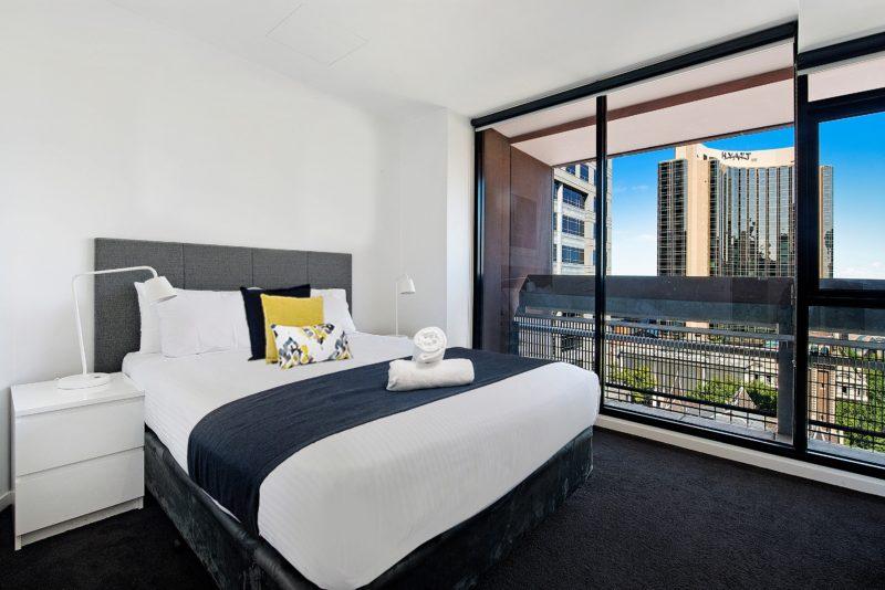 Bedroom at ULTIQA Little Collins in Melbourne CBD