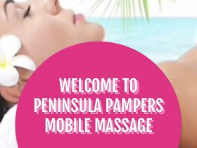 Peninsula Pampers Mobile Massage