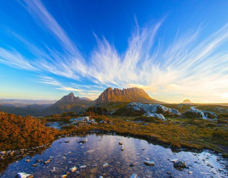 Breathtaking image of Cradle Mountain, Tasmania