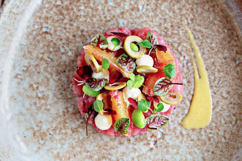 Veraison Wine Bar and Dining - Ceviche of Yellowfin Tuna