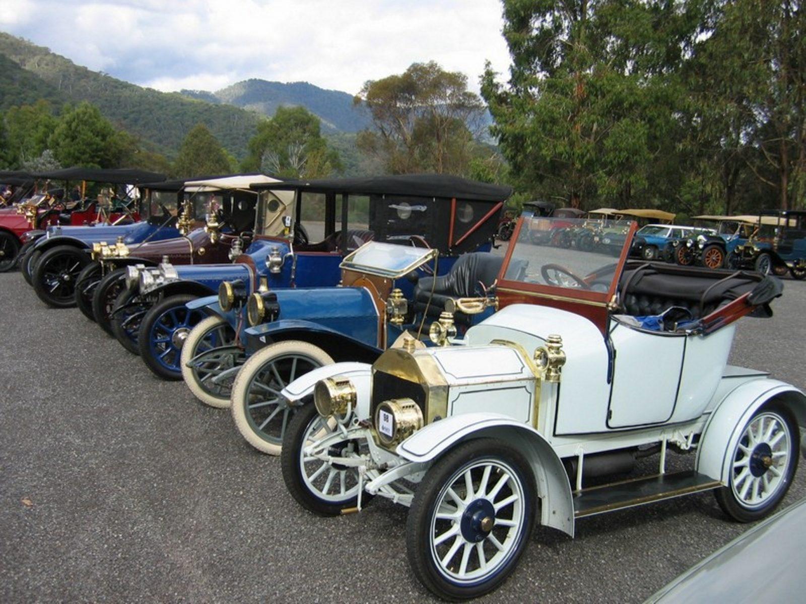 Veteran Car Club of Australia 1 and 2 Cylinder Car Rally