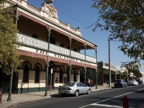 Oldest Hotel in Rutherglen dating back to 1868