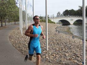 Justin Godfrey - Para Triathlete