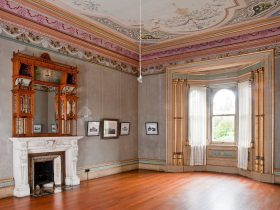 Drawing Room, Villa Alba Museum