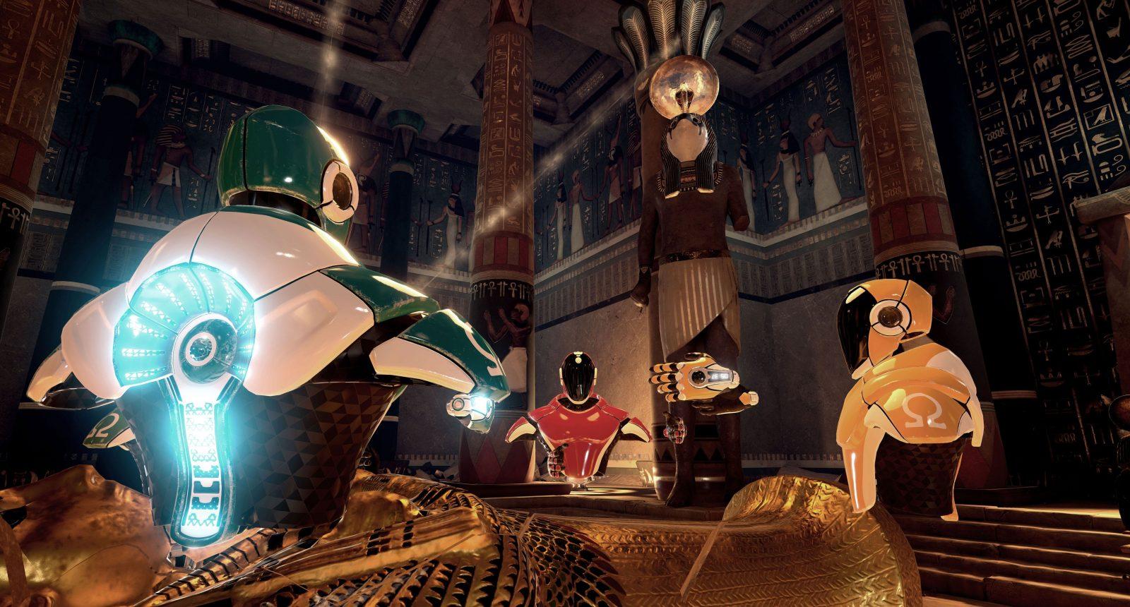 Visit ancient Egypt