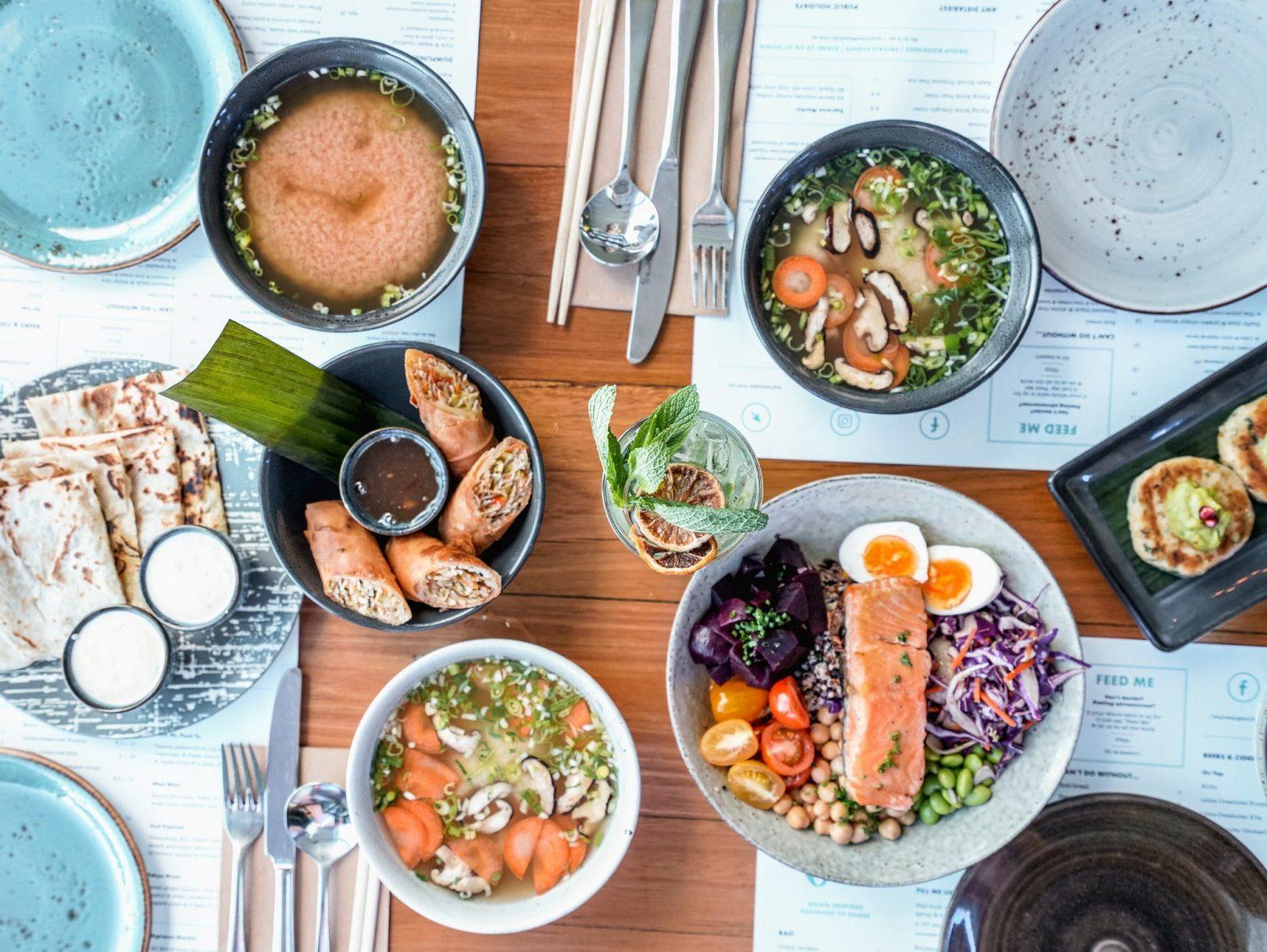 Wah Wah Gee Food Spread October 2019
