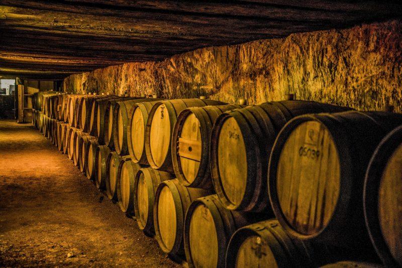 Warrenmang Winery and Resort Wine Barrels