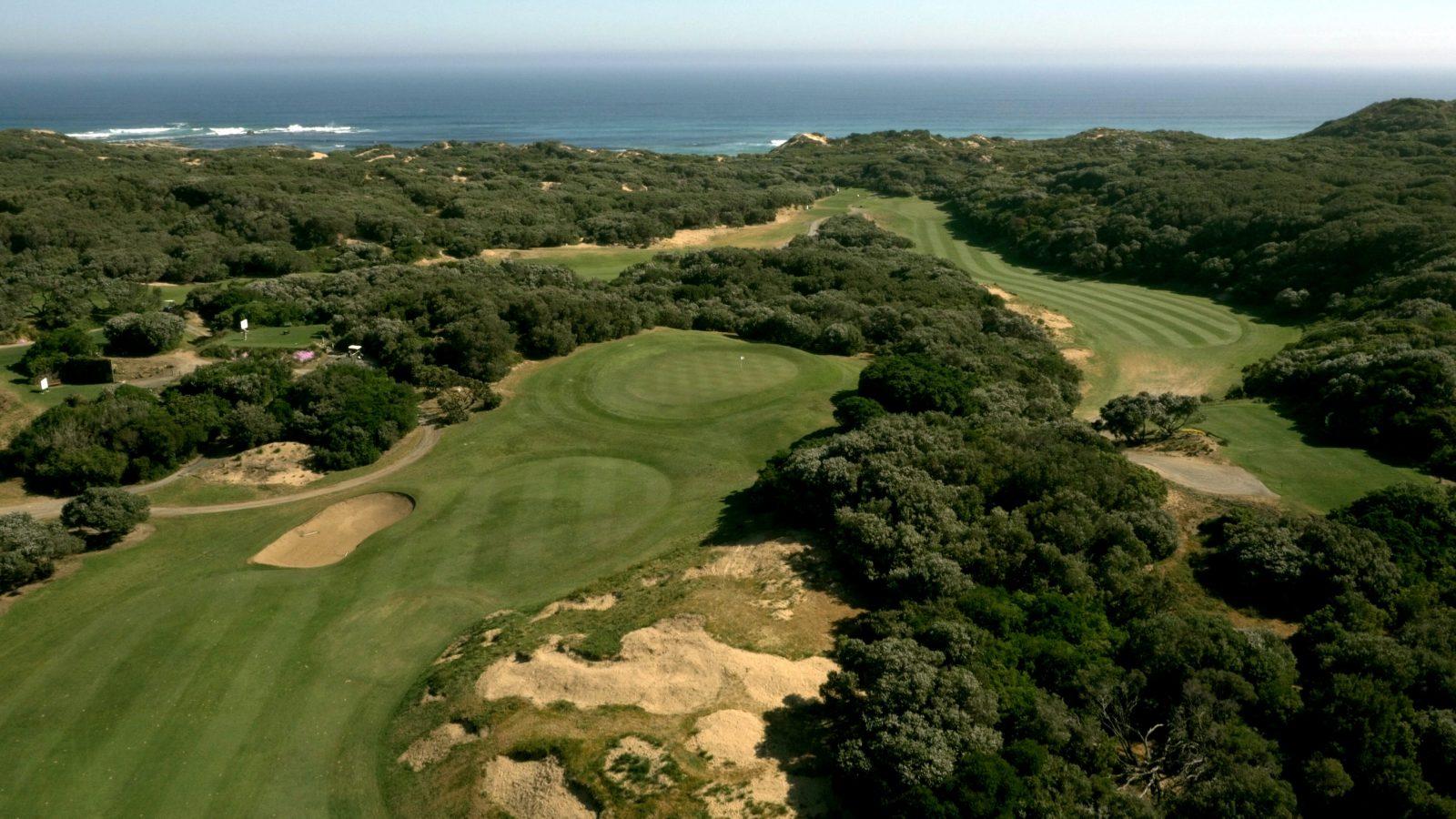 Warrnambool Golf Club from the Shipwreck bend