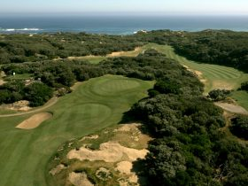 Warrnambool Golf Club from the Shipwreck bend