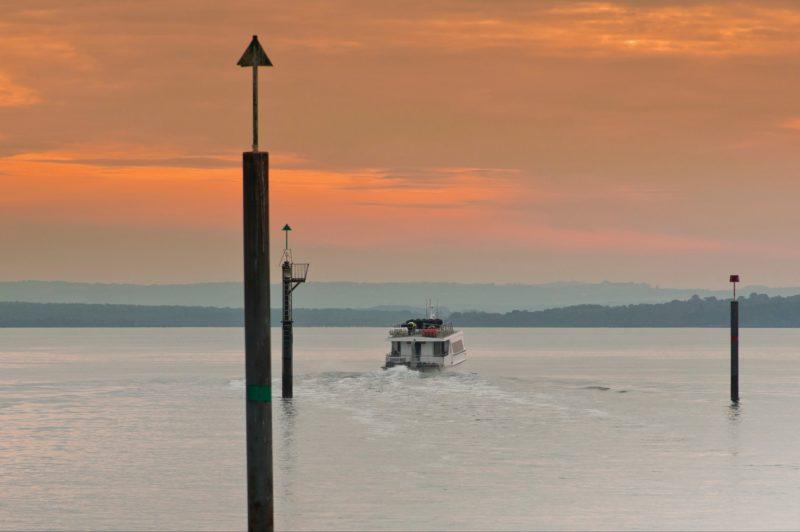 Boating on Western Port