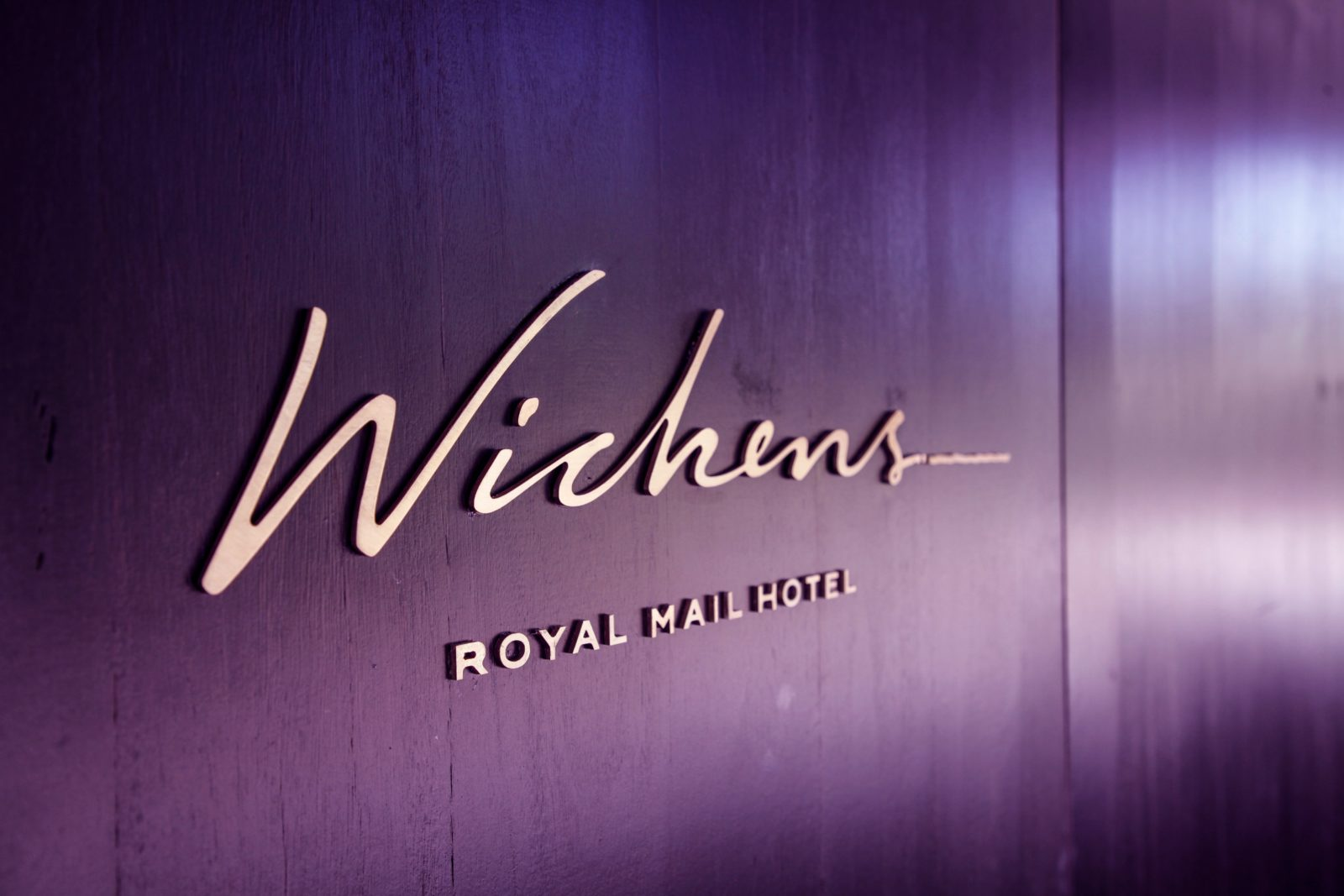 Entrance to Wickens at Royal Mail Hotel