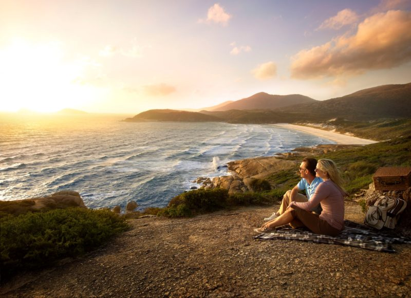 Sunset at Squeaky Beach, Wilsons Promontory National Park