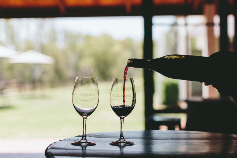 Tastes of Rutherglen Masterclass at St Leonards vineyard