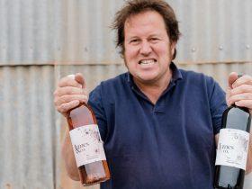Winemaker Ricky James