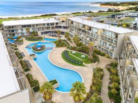 Aerial View of Wyndham Resort Torquay