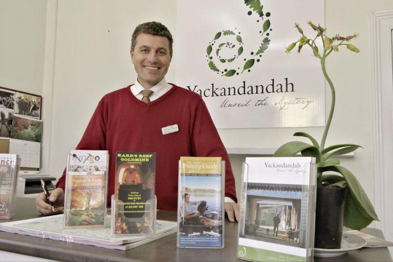 Yackandandah Visitor Information Centre - Inside