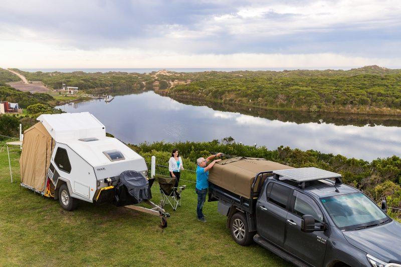 Camping & Caravanning at Yambuk Lake Caravan Park