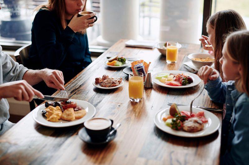 Buffet Breakfast at Bella