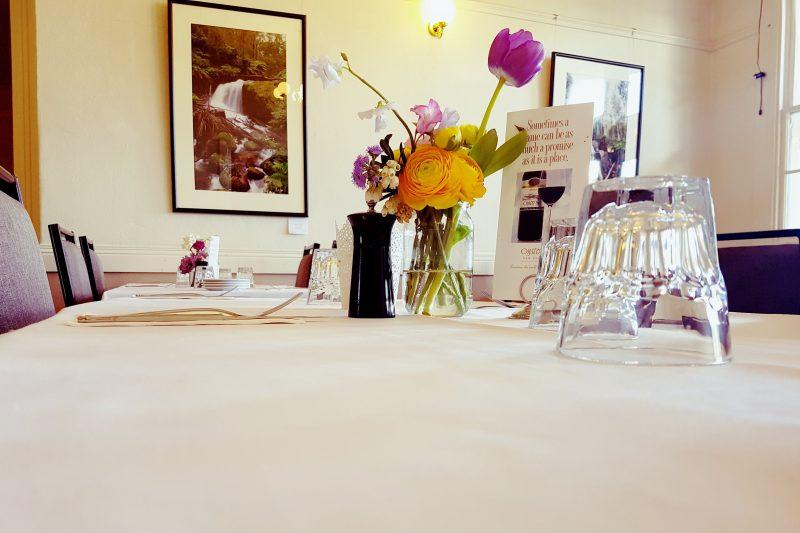 Yarragon Hotel dining room setting