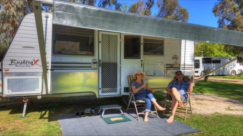 Yea Riverside Caravan Park Powered Sites