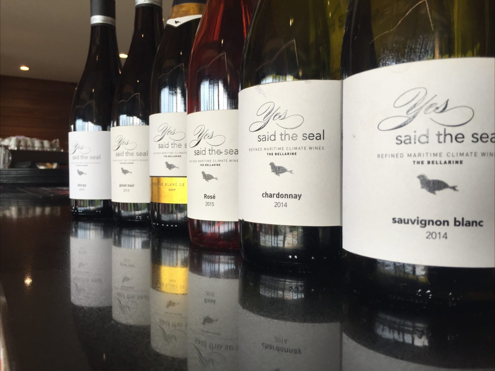 Yes Said the Seal Refined Maritime Climate Wines. The Bellarine