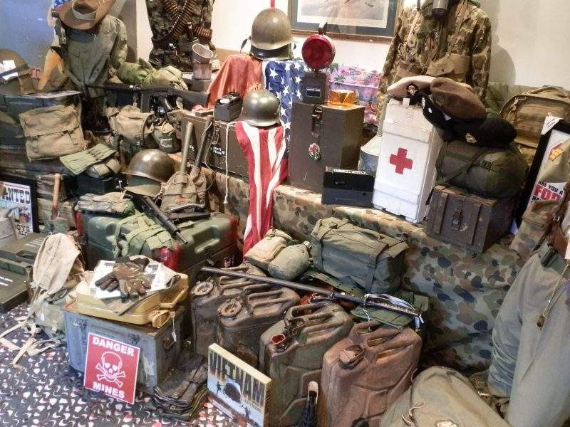 AAA Army Surplus and Collectables | Attraction Tour | Fremantle