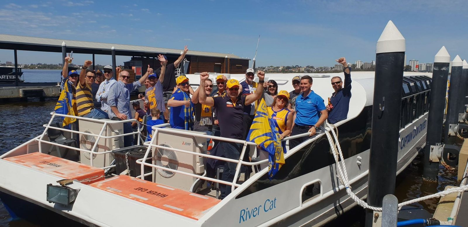 AFL Dine and Cruise, Perth, Western Australia