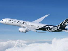 Air New Zealand, Perth, Western Australia