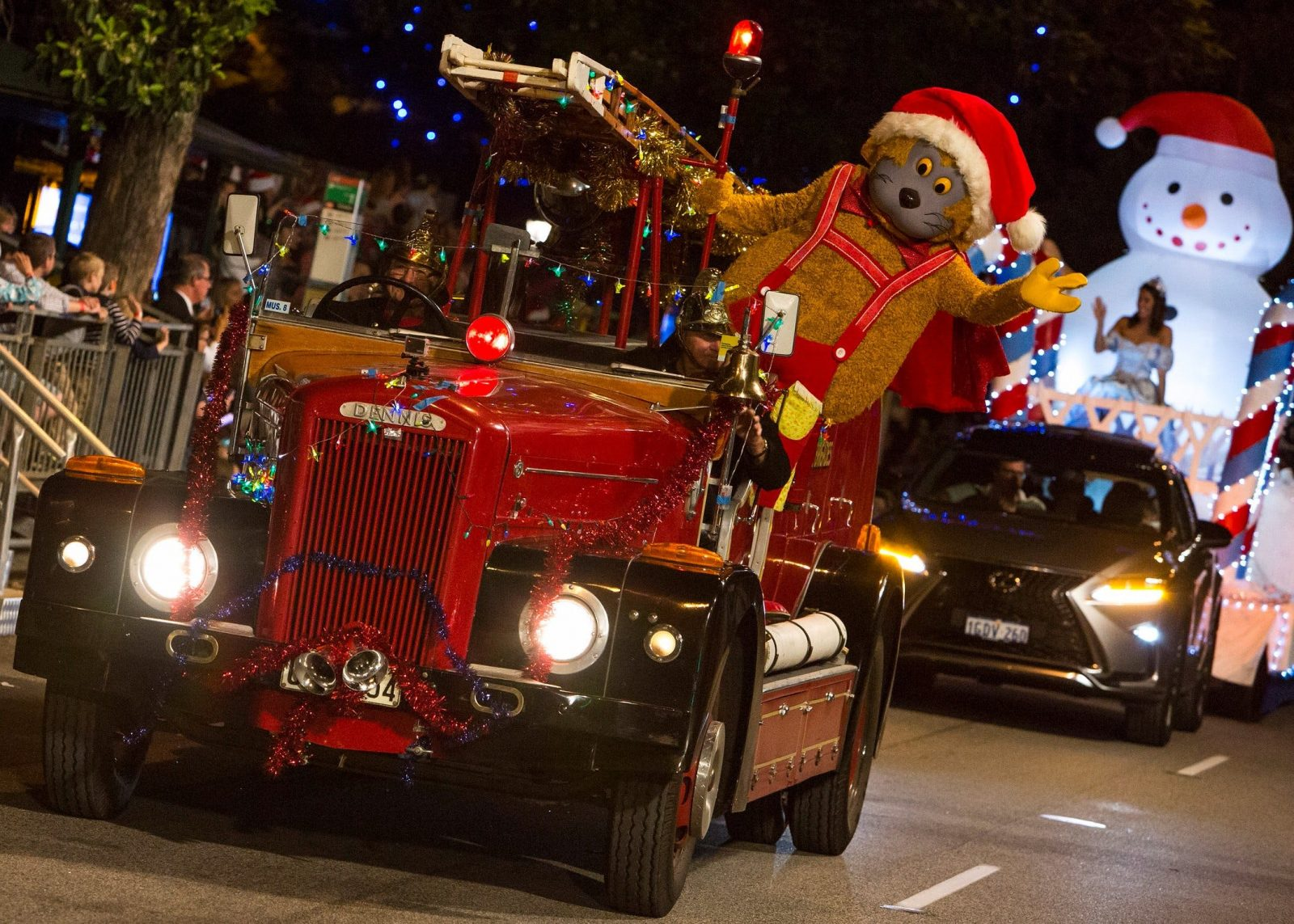 RAC Christmas Pageant, Perth, Western Australia