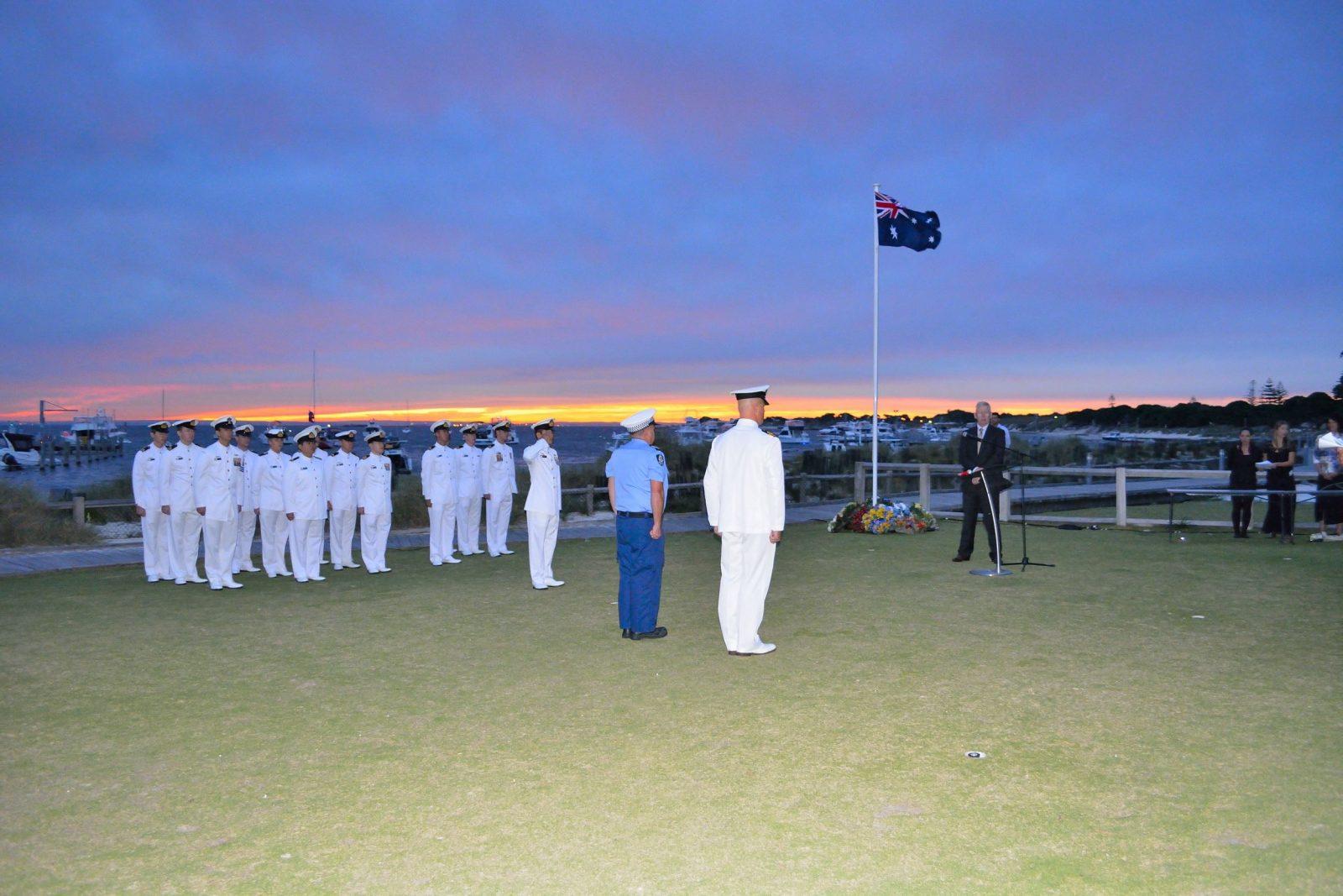 ANZAC Day, Rottnest Island, Western Australia