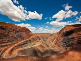 Argyle Diamond Mine, Lake Argyle, Western Australia