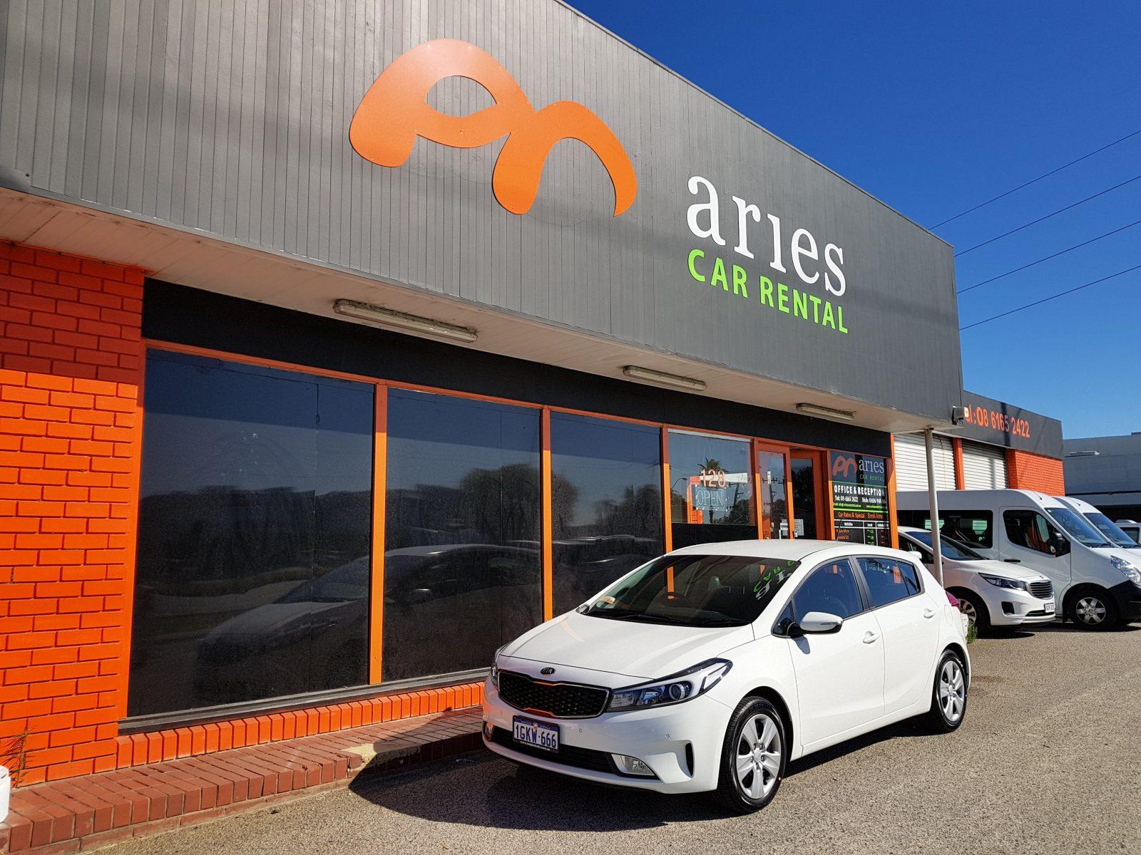 Aries Car Rental, East Perth, Western Australia