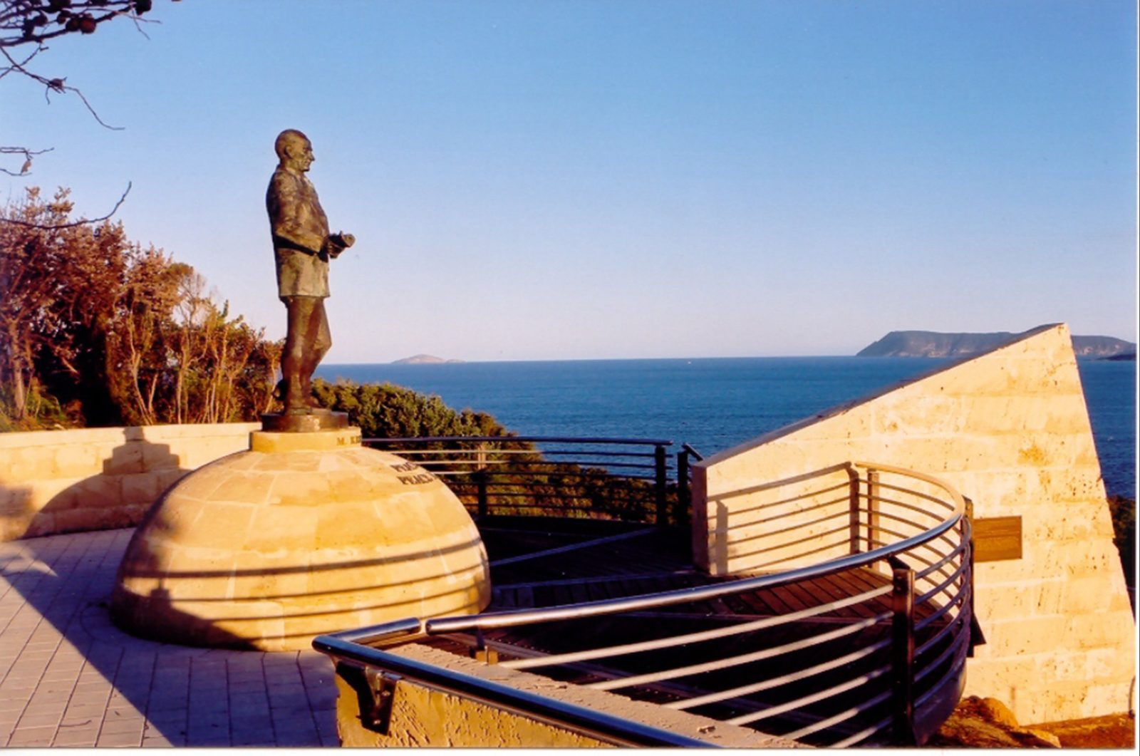 Ataturk Channel and Memorial, Albany, Western Australia