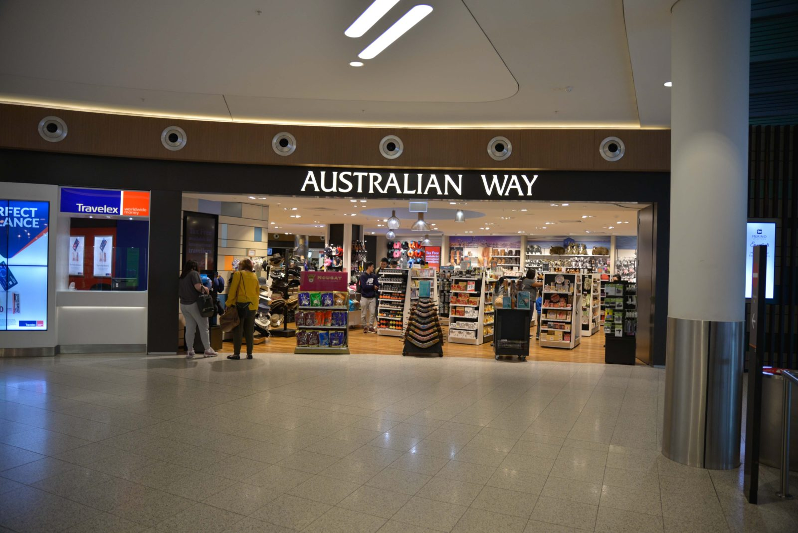Australian Way Perth Airport T1, Western Australia