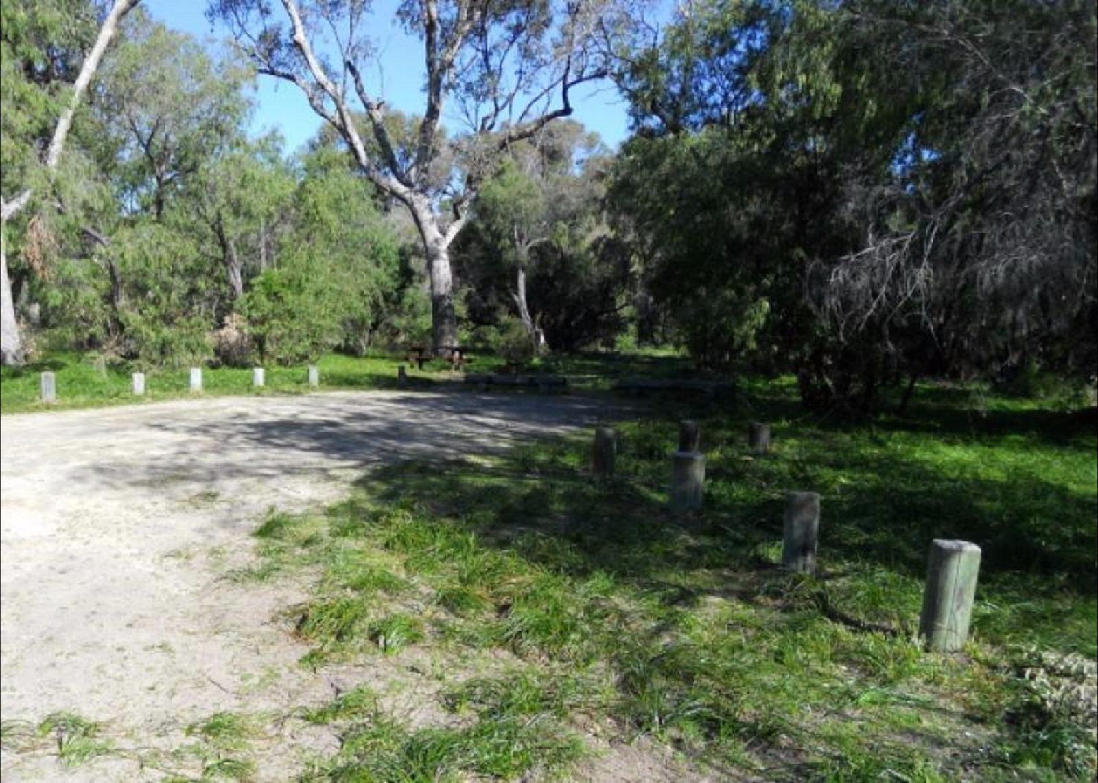 Belvidere Camp at Leschenault Peninsula Conservation Park, Western Australia