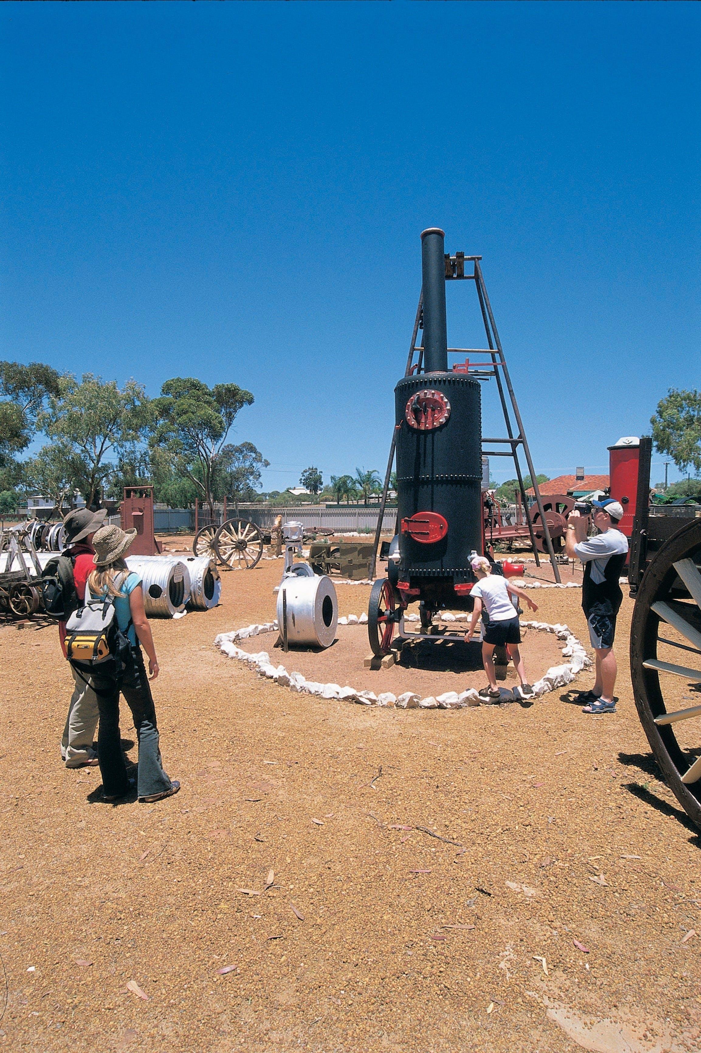 Ben Prior's Open Air Museum, Coolgardie, Western Australia